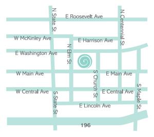 Smedley Map